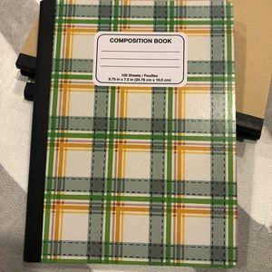 Composition Notebook NWT
